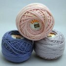 Cannon 50g Mercerised Crochet 8 Cotton from J & .P. Coats Manila Bay, Inc. - Lot of 3