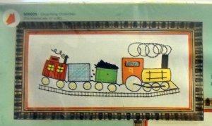 Bernat Artist's Originals Crewel Stitchery Picture Pak - Chug-Along Choo-Choo S08005