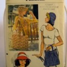 Pattern 8896 from Vogue (1975) - Hats and Tote Bags