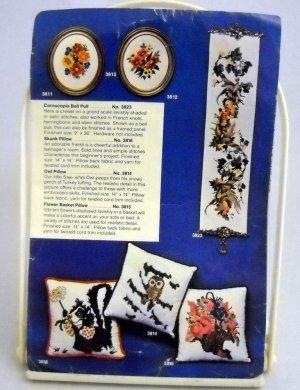 Artcraft Concepts Crewel Embroidery Kit (1977,1978) - Cornucopia Bell Pull 3823