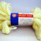 Dawn Bulky Yarn by American Thread Co. 2 oz skein - color 333 Buttercup