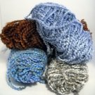 Lion Brand Homespun Yarn  - Lot of 4 skeins assorted colors