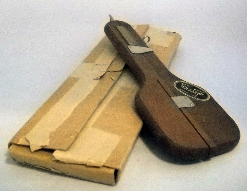 Wood Tru-Gyde Hook Rug Hooking Needle Wilson Bros & Box