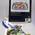 Partially Worked Sunset Jiffy Counted Cross Stitch Kit  - 16678 A Daughter is a Friend