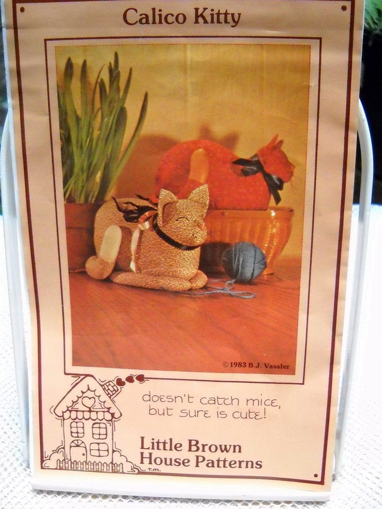 Little Brown House Patterns Calico Kitty (1983)