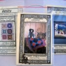 Three Amity Publications Amish Inspired Quilt and Doll Patterns  - 002, 004 and 007