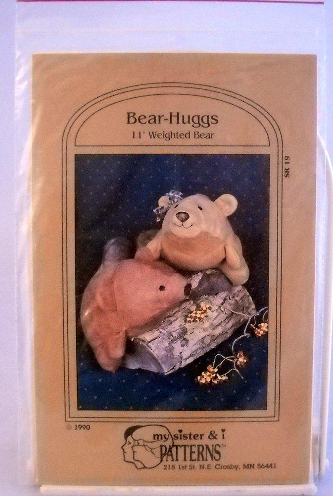 My Sister & I patterns (1990) - SR 19 Bear Hugs