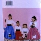 Butterick Pattern 4113 (1995) size (XS,S,M,L) - Children's/Girls' Costume Flared Skirt and Petticoat