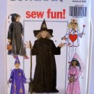 Butterick Children's/Boys'/Girls' Costumes Pattern 5593 - (1991)  - Size S,M,L,XL
