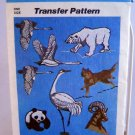 Simplicity Transfer Pattern 7116 - World Wildlife Fund Endangered Species