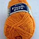 Finullgarn by Rauma 2 ply 50 g 176 m balls  - 1 ball color 461 pumpkin