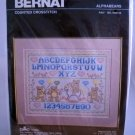Bernat Counted Crosstitch Kit - Alphabears No. H04143