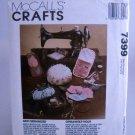 McCall's Crafts Pattern 7399 - (1994)  - Sew 0rganized