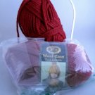 Lion Brand Wool-Ease Thick & Quick 6 oz (170g)skein - color 138 Cranberry