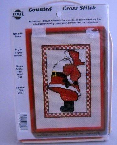 NeedleMagic Counted Cross Stitch Kit  - Santa 3798