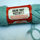 Vintage Kodel 111 Rug Yarn 2.5 oz skein color 138 azure blue