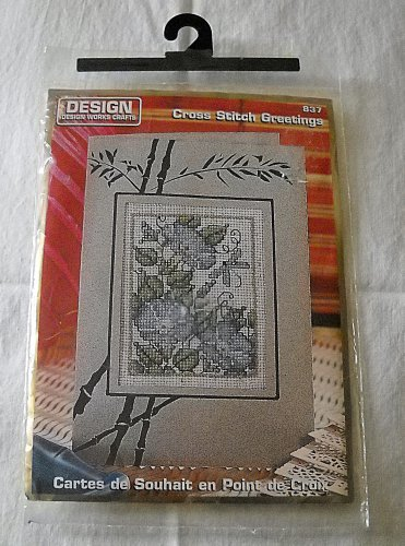 Design Works Crafts Cross Stitch Greetings Kit - 837