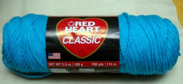 Red Heart Classic Yarn from Coats & Clark 3.5 oz (100 g) skein -  color parakeet