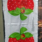 Vintage Strawberry Shortcake Pillow Fabric Panel Cut & Sew