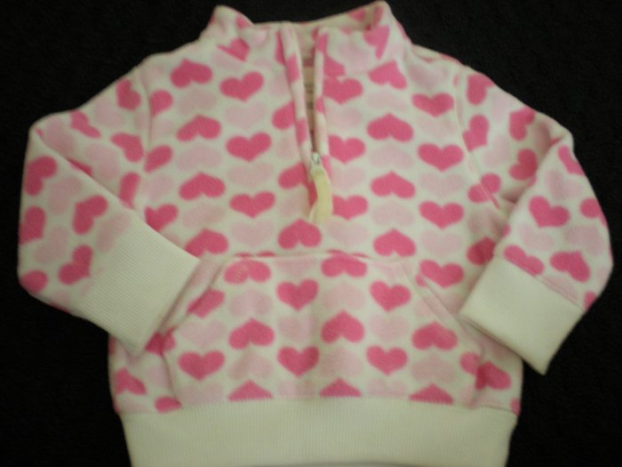 Old Navy Pink hearts Sweater