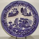 Blue Willow Divided Plate Made in Japan - B0016