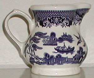 Blue Willow Pitcher Made by Churchill - B0020
