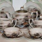 Lithophane Tea Set Made in Japan - L0008