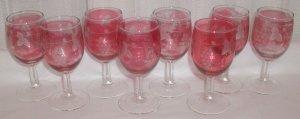 Vintage Wine Glasses - M0018