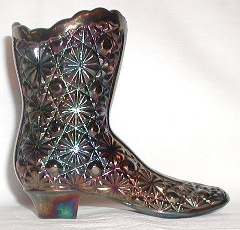 Vintage Glass Boots M0069