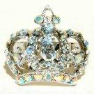 Clear Crown Swarovski Crystal Ring