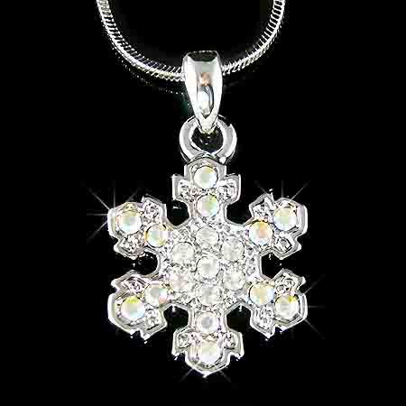 Christmas MUST-HAVE! Snowflake Swarovski Crystal Necklace