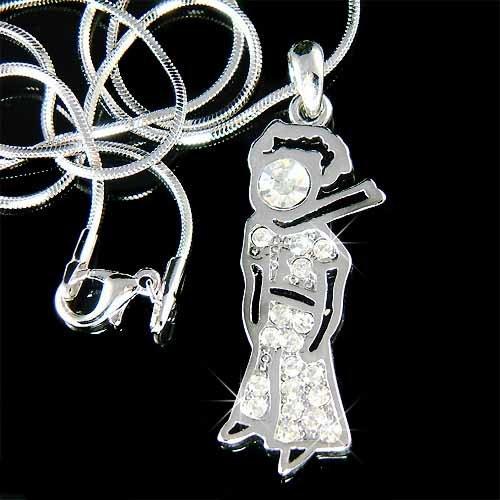 Fairy Story Book The Little Prince Swarovski Crystal Necklace