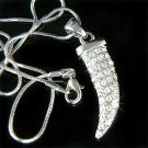 Celebrity Wild Horn Swarovski Crystal Necklace