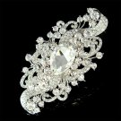 "4.5"" Huge Big Swarovski Crystal Bridal Brooch for Wedding Dress"