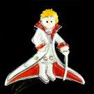 Swarovski Crystal The Little Prince Petit Prince Enamel Brooch