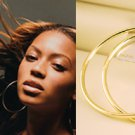 "3 1/2"" (90mm) Huge Celebrity Gold-Plated Hoop Earrings"