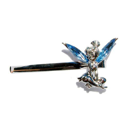 Blue Swarovski Crystal Tinkerbell Fairy Bobby Hair Pin Jewelry