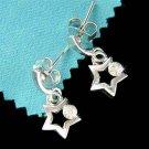 Swarovski Crystal Little Shooting Star Girls Pierced Earrings