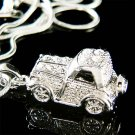 Swarovski Crystal Jeep Wrangler Off Road Wild Freedom Necklace
