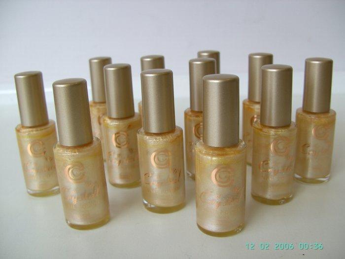 12 No.5 Gold Citrine Crystal Nail Polish