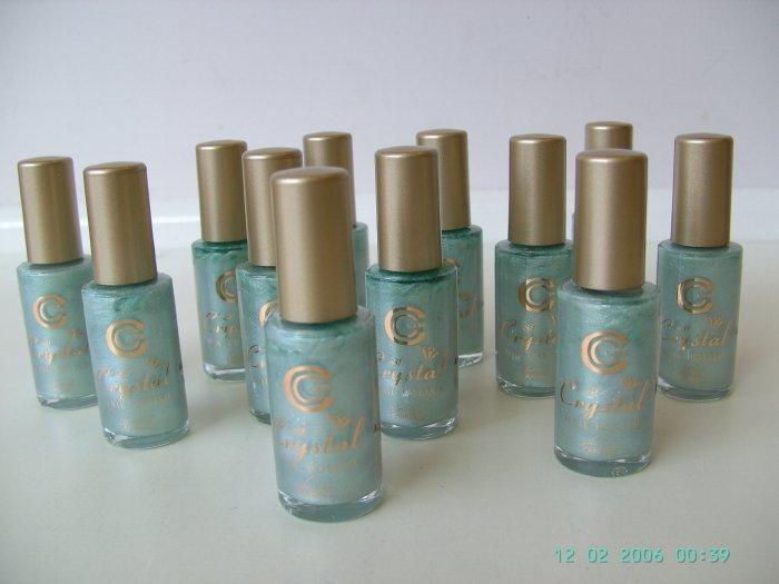 12 No.6 Jade Treasure Crystal Nail Polish