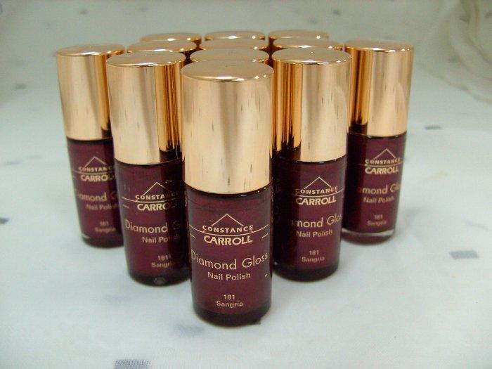 12 No.181 Sangria Diamond Gloss Nail Polish