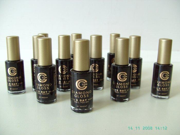 12 No.87 Ebony Diamond Gloss Nail