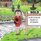 Realtor Personalized Cartoon Print