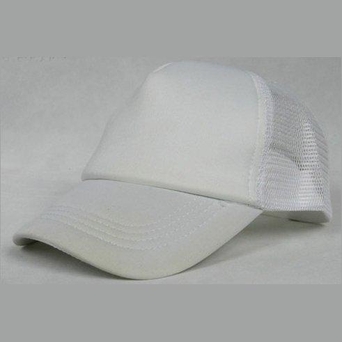NEW CASUAL TRUCKER HAT CAP (WHITE)