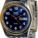 Timex Mens Expedition Indiglo Two Tone Watch