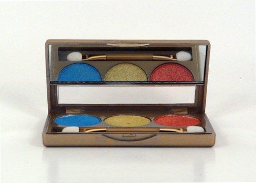 Glamorous Cosmetics 3 Color Eyeshadow Makeup - Taurus