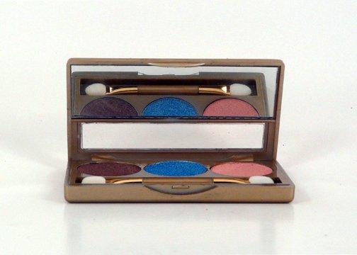 Glamorous Cosmetics 3 Color Eyeshadow Makeup - Lyra