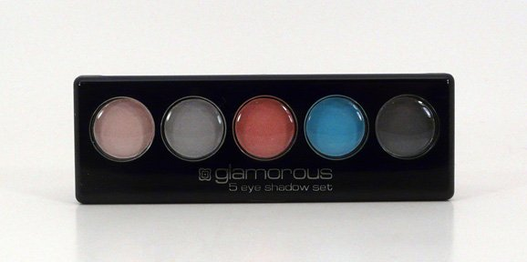 Glamorous Cosmetics 5 Color Eyeshadow Makeup - Iris