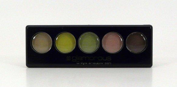 Glamorous Cosmetics 5 Color Eyeshadow Makeup - Hera